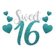Flavors of sweet 16 favors for teenagers