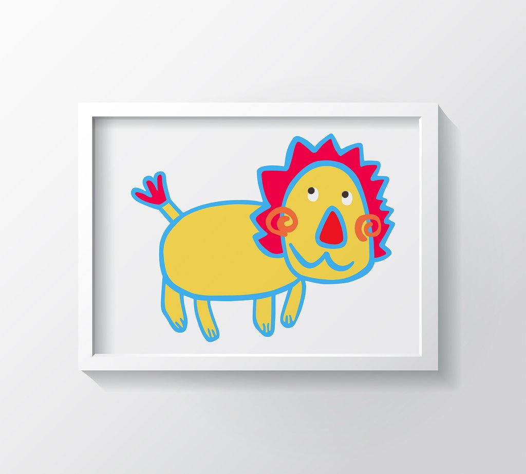 WHAT'S UP ART PRINT
